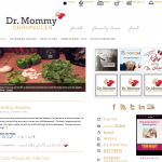 Dr. Mommy Chronicles 150x150 Web and Blog Design