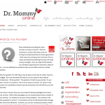 Dr. Mommy Online 150x150 Web and Blog Design