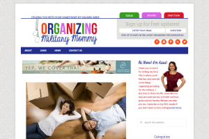 Organizing Military Mommy