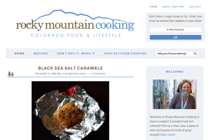 Rocky Mountain Cooking Colorado Food and Lifestyle