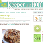 keeper of the home 150x150 Web and Blog Design