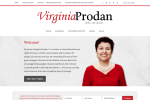 Virginia Prodan - author and speaker