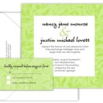 floral border invite set green 150x150 Graphic Design