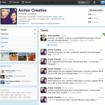 new twitter archer creative