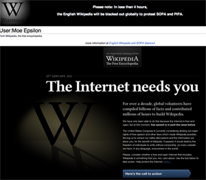 the internet needs you SOPA and What You Need To Know