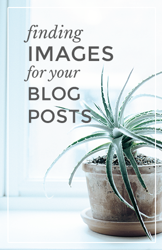 Finding Images for your blog posts