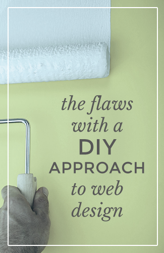 The flaws with a DIY approach to web design