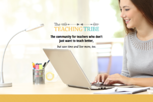 The Teaching Tribe landing page - Pre-K Pages